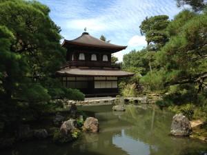 銀閣寺 庭園