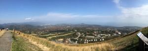 大室山 パノラマ展望写真