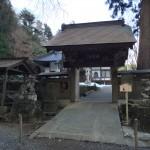 石老山・顕鏡寺の山門