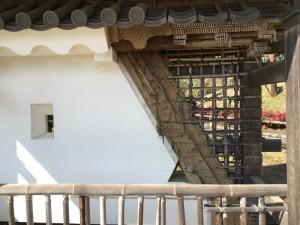 小田原城の土壁