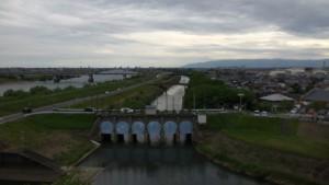 清洲城からの眺め
