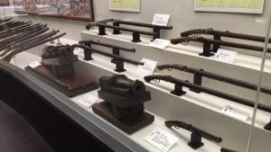 設楽原歴史資料館の火縄銃