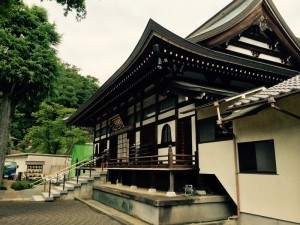 小野路城下の萬松寺