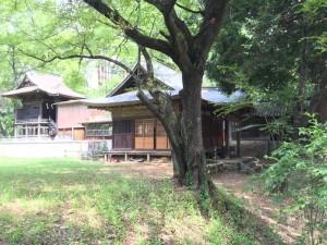 新府城の藤武神社