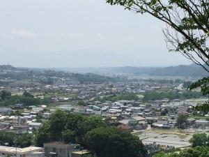若神子城からの展望