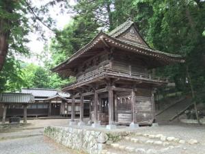 武田八幡神社の山門
