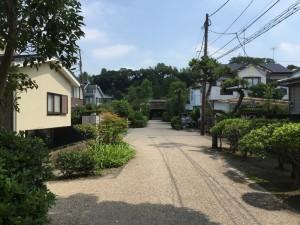 常楽寺の参道