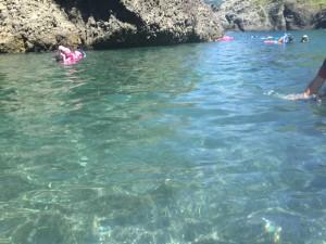 キレイな海水浴場「ヒリゾ浜」伊豆