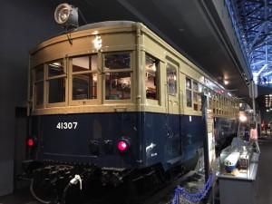 筑波鉄道でも走っていたキハ41300形式気動車(鉄道博物館)