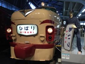 特急「ひばり」(鉄道博物館)