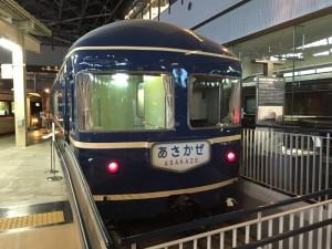 寝台特急「あさかぜ」ナハネフ22形式客車(鉄道博物館)