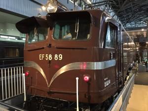 EF58(鉄道博物館)