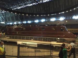 EF55電気機関車(鉄道博物館)