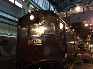 ED40形式電気機関車(鉄道博物館)