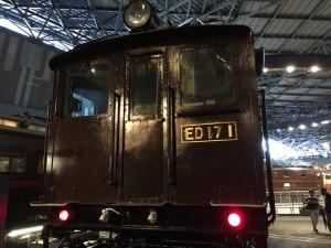 ED17形式電気機関車(鉄道博物館)