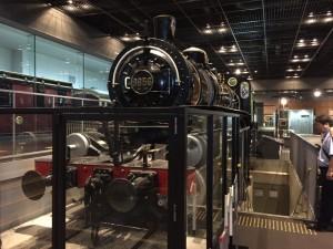 現存唯一のマレー式機関車(鉄道博物館)