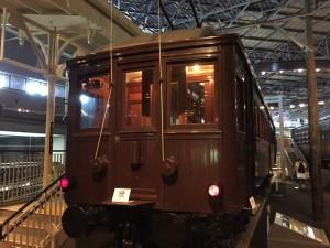 ナデ6110形式電車(鉄道博物館)