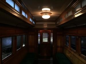 電車内の様子(鉄道博物館)