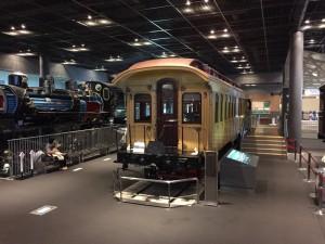 北海道開拓使号客車(鉄道博物館)