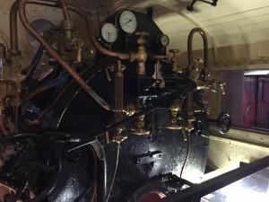 SLの運転室(鉄道博物館)