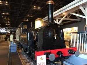 日本初のSL・150形式蒸気機関車(鉄道博物館)