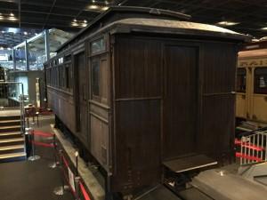 甲武鉄道の初期のデ963形式電車(鉄道博物館)