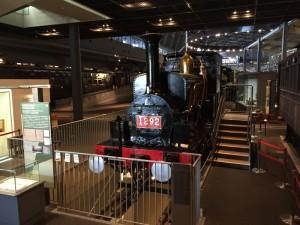 SL善光号・1290形式蒸気機関車(鉄道博物館)