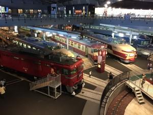 鉄道博物館の展示車両