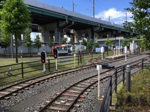 鉄道博物館のミニ列車