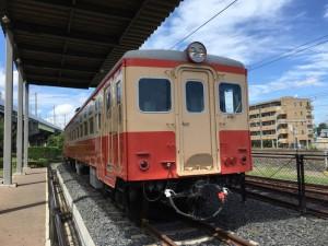 茨城交通の国鉄キハ11形(鉄道博物館)