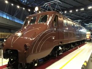 特急「富士」などで活躍した旅客用機関車(鉄道博物館)