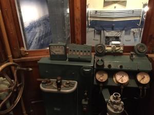 キハ41300形式気動車の運転席(鉄道博物館)