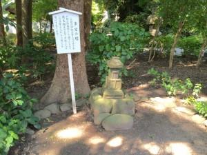 鎌倉宮の多宝の塔