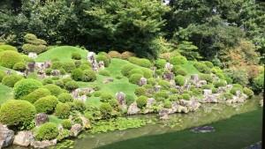 龍潭寺の庭園