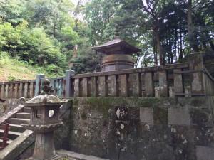 徳川家康の墓