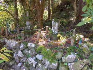 足柄峠の石碑