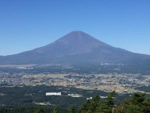 足柄峠から望む富士山