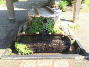 深大寺の手水舎