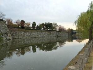 姫路城の内堀