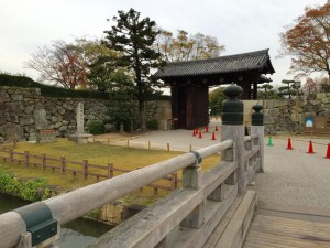 姫路城の大手門
