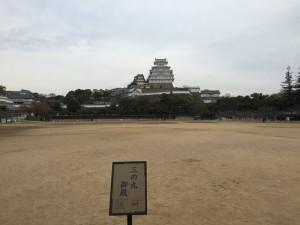 姫路城の三の丸