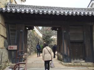姫路城・いの門
