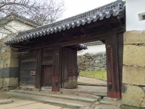 姫路城・ろの門