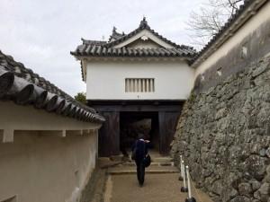 姫路城・にの門