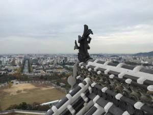 姫路城天守からの展望
