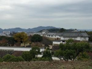 姫路城・本丸からの展望