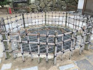 姫路城の本丸井戸