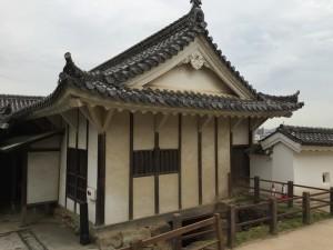 姫路城・帯郭櫓の建物