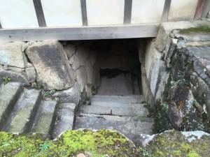 姫路城・帯郭櫓への階段