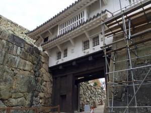 姫路城・ぬの門